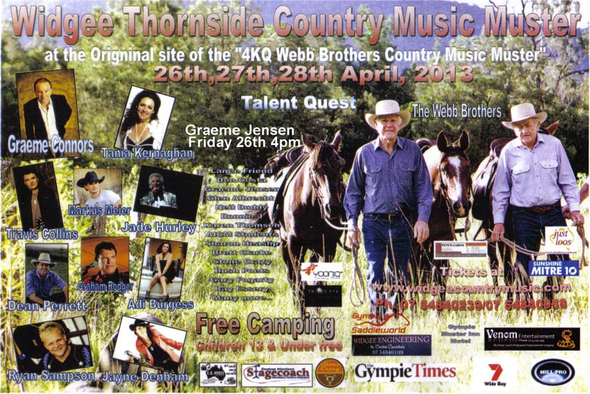 Widgee Country Music Muster